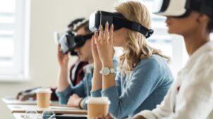 realtà virtuale immersiva VR