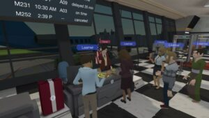 virtual reality per le aziende training inglese