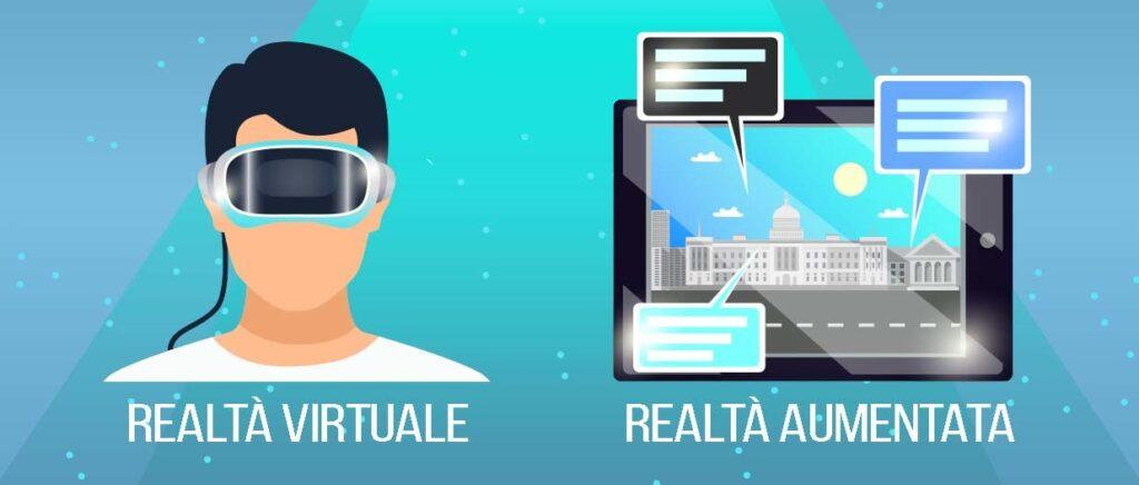 realtà aumentata e realtà virtuale per le aziende
